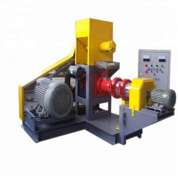 Hot High Efficient Extruded Tilapia Floating Fish Feed Extruder