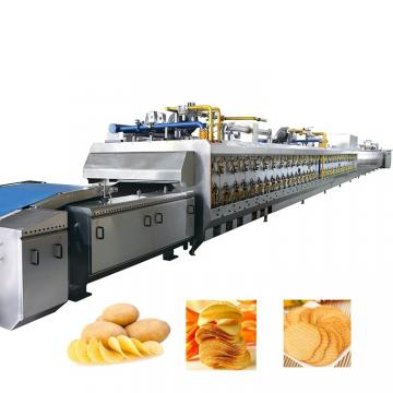 Various Potato Chips Making Machine, Continous Mesh Belt Dryer
